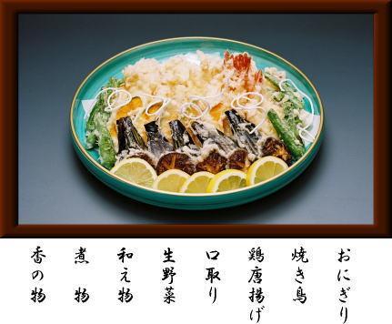 昼膳盛り込み(ひるぜんもりこみ)1台5,000円